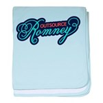 Outsource Romney baby blanket