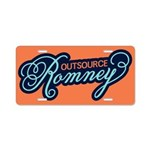 Outsource Romney Aluminum License Plate