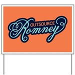 Outsource Romney Yard Sign