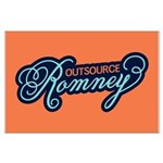 Outsource Romney Large Poster