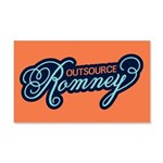 Outsource Romney 20x12 Wall Decal