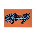 Outsource Romney Rectangle Magnet (100 pack)