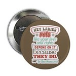 """Ladies Vote 2.25"""" Button (100 pack)"""