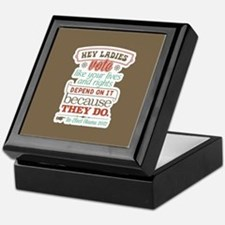 Ladies Vote Keepsake Box