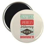 "Romney Aristocracy 2.25"" Magnet (100 pack)"