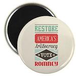 Romney Aristocracy Magnet