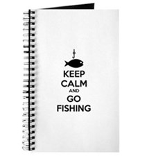 Keep calm and go fishing Journal