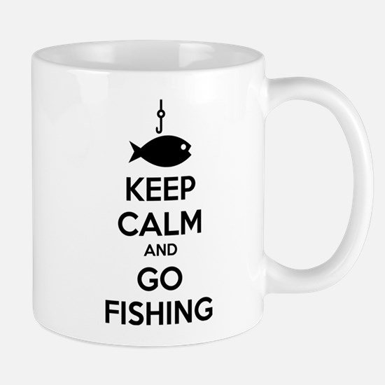 Keep calm and go fishing Mug