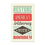 Romney Aristocracy 20x12 Wall Decal