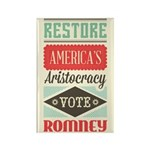 Romney Aristocracy Rectangle Magnet (100 pack)