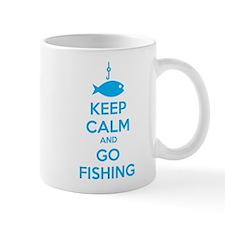 Keep calm and go fishing Mug