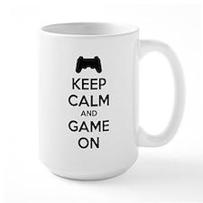 Keep calm and game on Mug