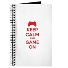 Keep calm and game on Journal