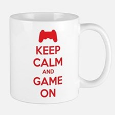 Keep calm and game on Mug