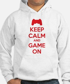 Keep calm and game on Jumper Hoody