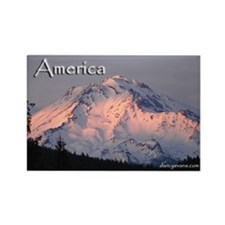 America Pride Rectangle Magnet (10 pack)