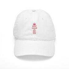 Keep calm and ski on Cap