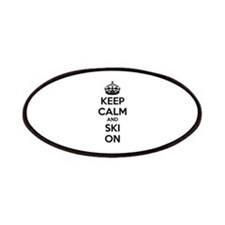 Keep calm and ski on Patches