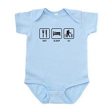 Eat Sleep DJ Infant Bodysuit