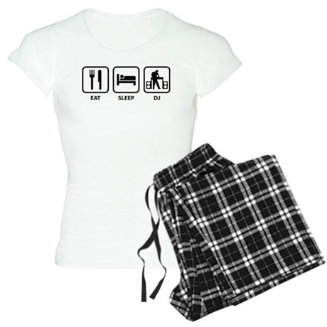 Eat Sleep DJ Women's Light Pajamas