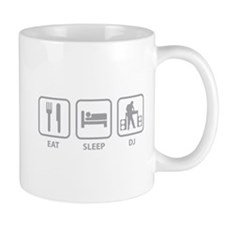 Eat Sleep DJ Mug