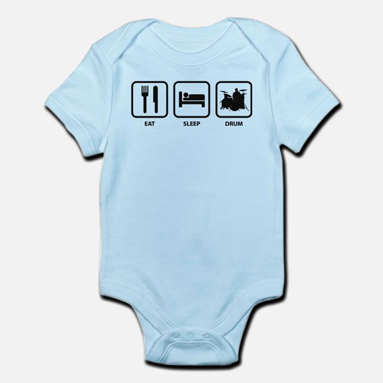 Eat Sleep Drum Infant Bodysuit
