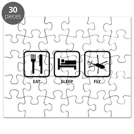 Eat Sleep Fly Puzzle