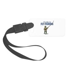 Fly Fishing Luggage Tag