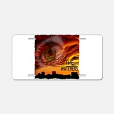 the watchers Aluminum License Plate