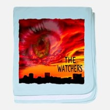 the watchers baby blanket