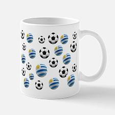 Uruguay Soccer Balls Mug