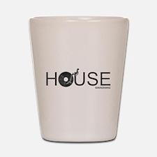 House Vinyl Shot Glass