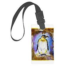 Penguin! Wildlife art! Luggage Tag