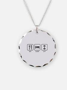 Eat Sleep Lift Necklace