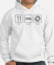 Eat Sleep Music Jumper Hoody