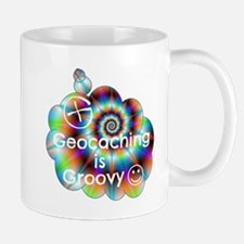 Geocaching is Groovy Mug