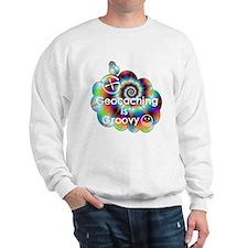 Geocaching is Groovy Sweatshirt