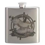 Fishing legend Flask