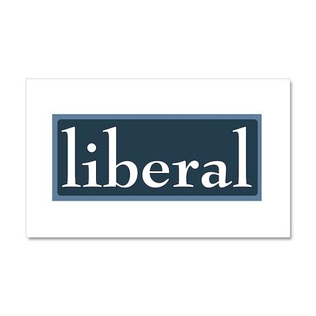 Liberal Car Magnet 20 x 12