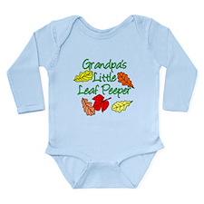 Grandpas Little Leaf Peeper Long Sleeve Infant Bod