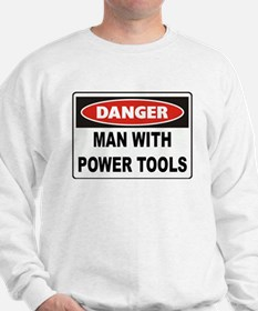 Danger Man With Power Tools Jumper