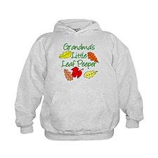 Grandmas Little Leaf Peeper Hoodie