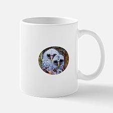 barred owl chicks Mug