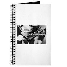 Just 1/4 c. sugar Journal