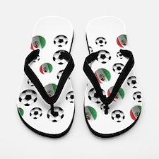 Mexican soccer balls Flip Flops