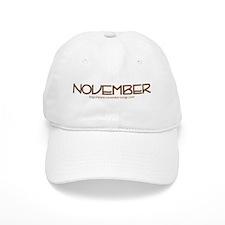 November Gear : Novembersongs.com Baseball Cap