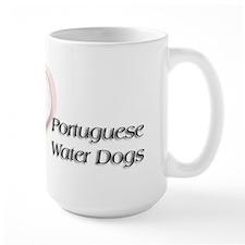 I heart Portugese Water Dogs Mug