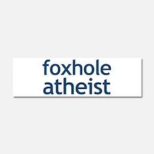 Foxhole Atheist Car Magnet 10 x 3