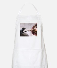 black lab BBQ Apron