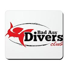 Bad Ass Divers Club Mousepad